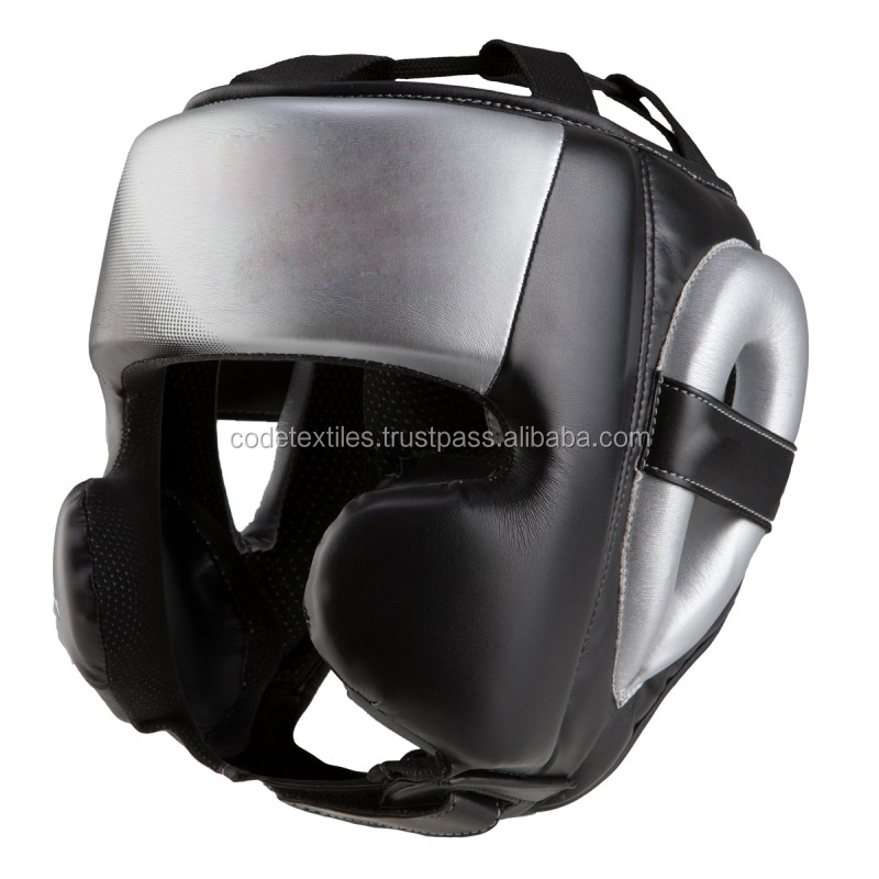 high quality Martial arts equipment kick boxing head guard