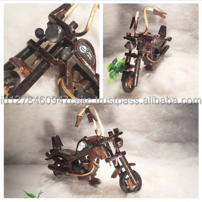 Harley Wooden Craft Wedding Souvenir