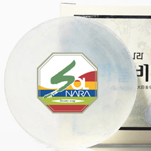 Garlic Skin Care Beauty Soap For Sensitive type Made In Korea ( Sterilization,Antibacterial ) Organic Natural Hotel Soap
