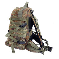 Military tactical molle backpack high quality army bag camo waterproof multi-functional