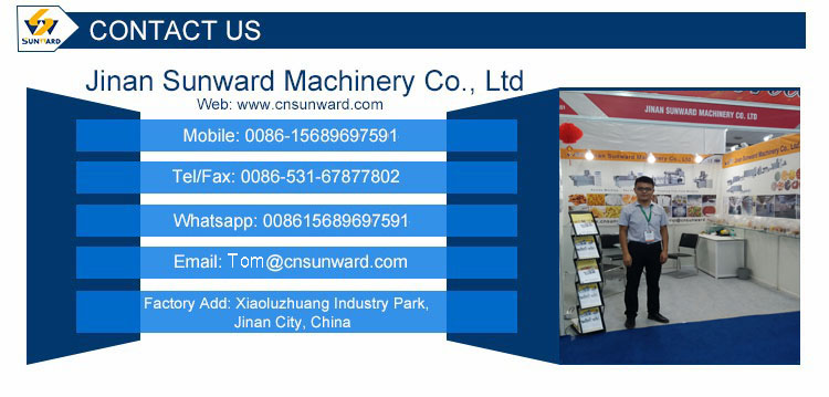 Jinan Sunward Breakfast Cereal Food Extruding Equipment