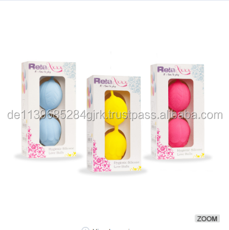 RelaXxxx love ball Silicone Pleasure Balls for female