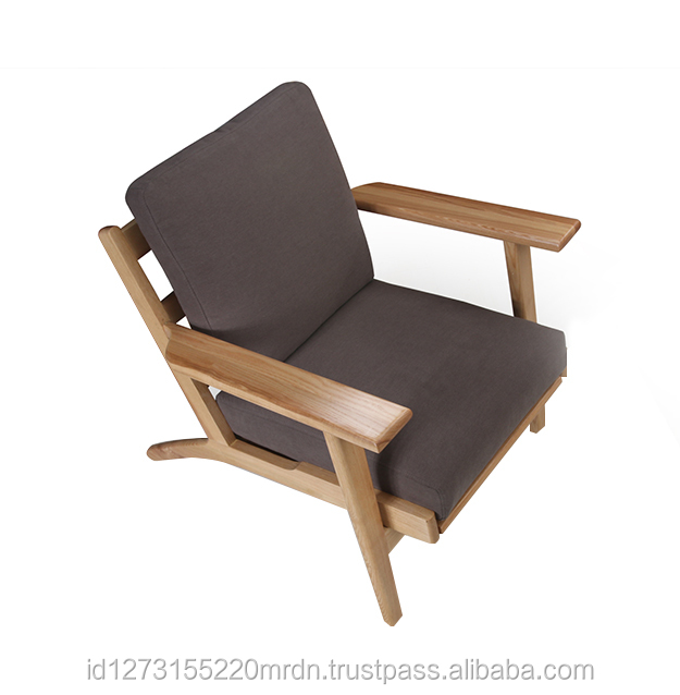 Indonesia Furniture Dallas Lounge Chair With Armrest