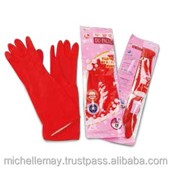 Malaysia Natural Rubber Household Rubber Glove for Kitchen Use