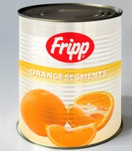 A10 (3kg) Whole Orange Segment in Light Syrup