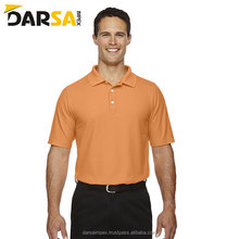 Wholesale custom 100% pure cotton casual Golf men's blank polo t shirt with design
