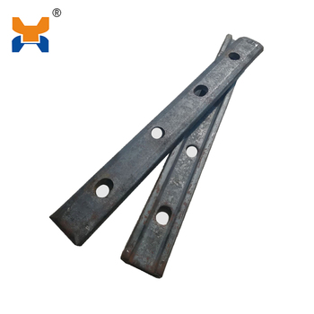 Railway Track Fish Plate Used For Fixed Joint Steel Rail