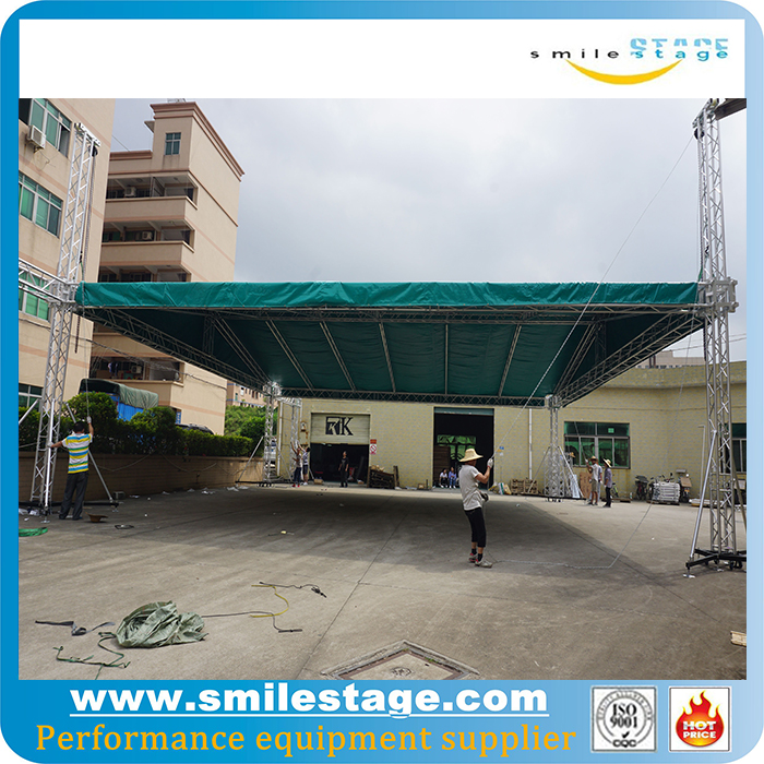 portable outdoor event factory price c channel roof truss