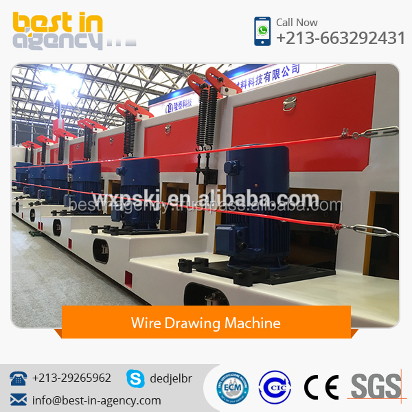 High Quality Straight Wire Drawing Machine for Carbon Steel and Alloy