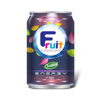 Short Can Energy Drink With Juice