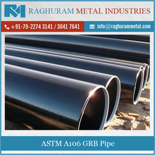 High Performance Rust Proof ASTM A106 GRB Pipe, Stainless Steel Pipes