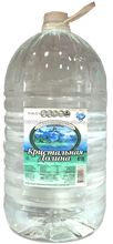 Natural ecologically pure drinking mineral water still