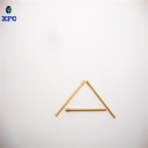 Brass quality CNC pin Turning parts Semiconductor probes for testing