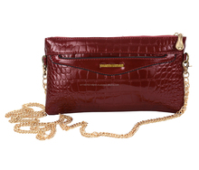 LADIES LEATHERITE SLING BAG