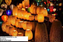 Colourful silk lanterns - Vietnamese outdoor Wedding Decorations (Ms jenny 00841`203970669 jenny.vietdelta@gmail.com)