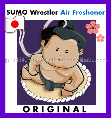 SUMO Paper Hanging air freshener for automobiles with various scents
