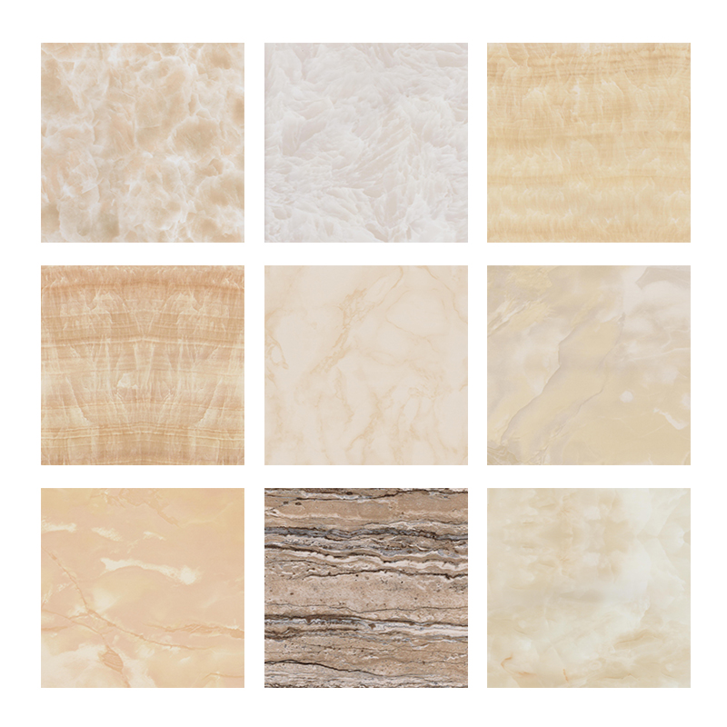Building Material Decorative Marble Colored PVC Wall Panel