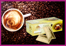 3 in 1 Instant White Coffee in Malaysia OEM Coffee Tongkat Ali instant Coffee 3 in 1 for men health OEM Malaysia