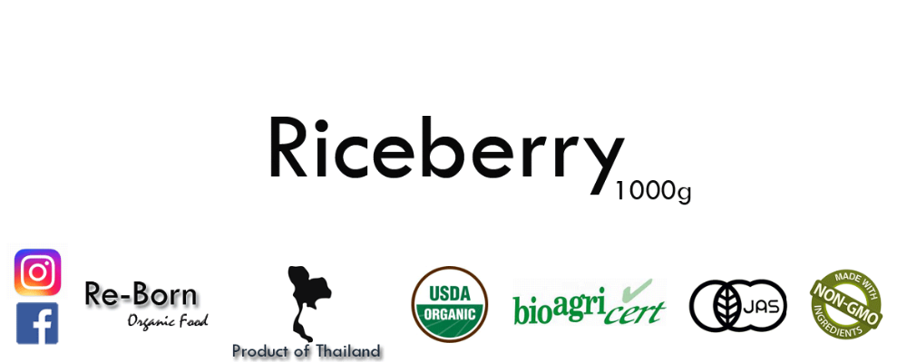 Special Offer Riceberry Rice Thailand Origin 100% Organic Healthy
