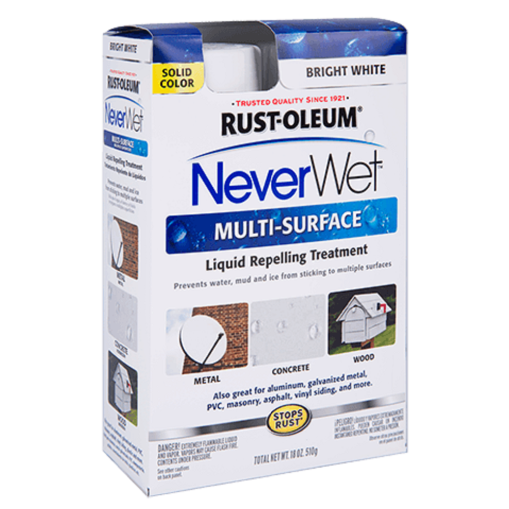 RUST - OLEUM NeverWet Multi - Surface - 275660 - Kit, Bright White