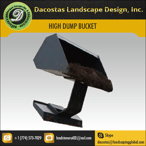 ISO Certified Hysoon High Dump Bucket