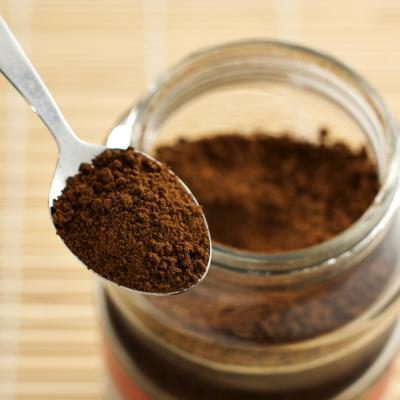 Powder pure Instant coffee with 100% green coffee beans