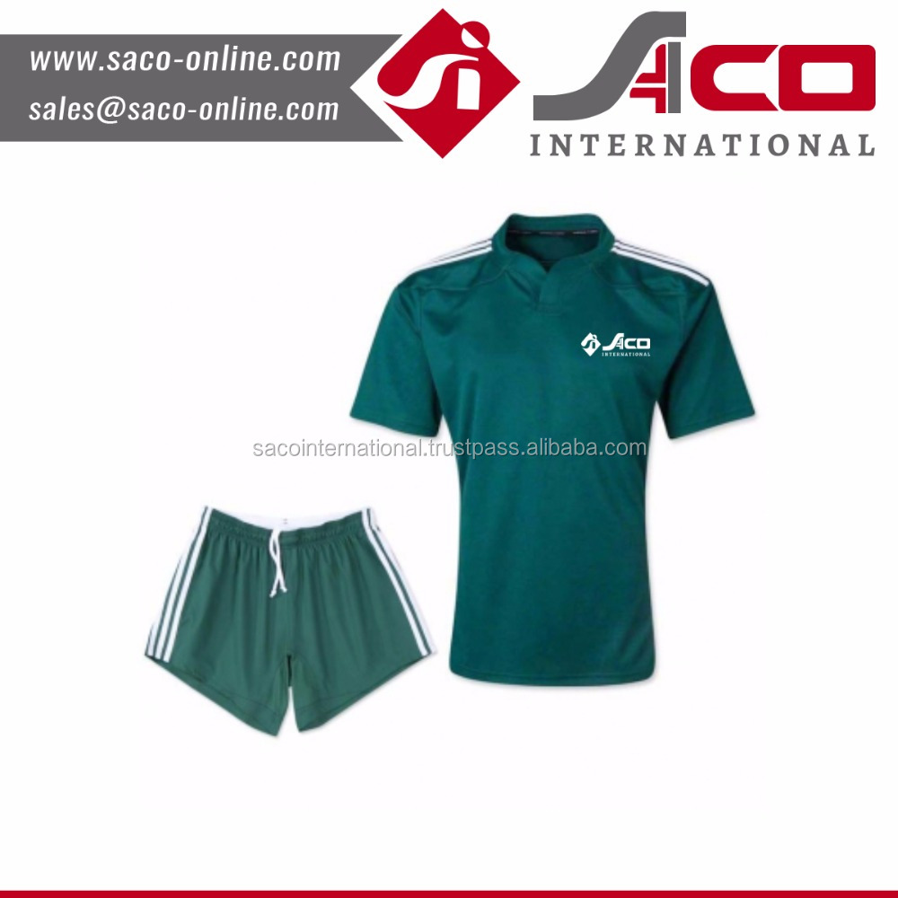 Wholesale polo collar rugby jerseys custom rugby uniform for men