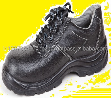 Industrial Safety Shoes Light Weight Leather PU Sole Steel Toe Shoes - Big Boss