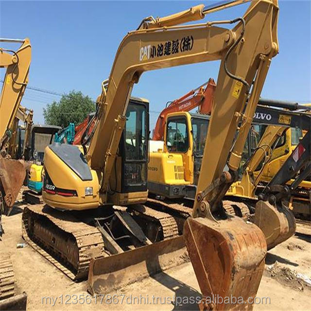 Blade Promotion Price Caterpillar 8 Ton Used Cat Mini Excavator 308C 308CR