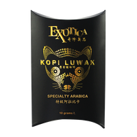 Malaysian Made World Most Expensive Arabica/Robusta Civet Coffee Kopi Luwak Specialty Ground Gourmet Coffee