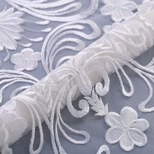 Wholesale Encajes Bordados <strong>Para</strong> Novias 100% Polyester Lace Fabric, For Fashion Wedding Gowns and New Season Design