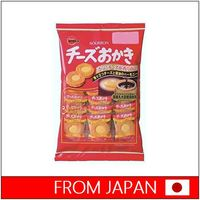Tasty japanese food Cheese Rice Cracker by Bourbon made in Japan