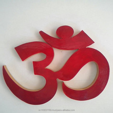 Natural Shreeparni Wood Made OM - A Religious Craft by Kiran Jewellers