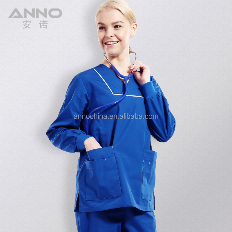 OEM hospital uniform doctor nurse medical scrubs set