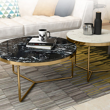 High quality dark emperador marble coffee table marble stone center table for <strong>furniture</strong>