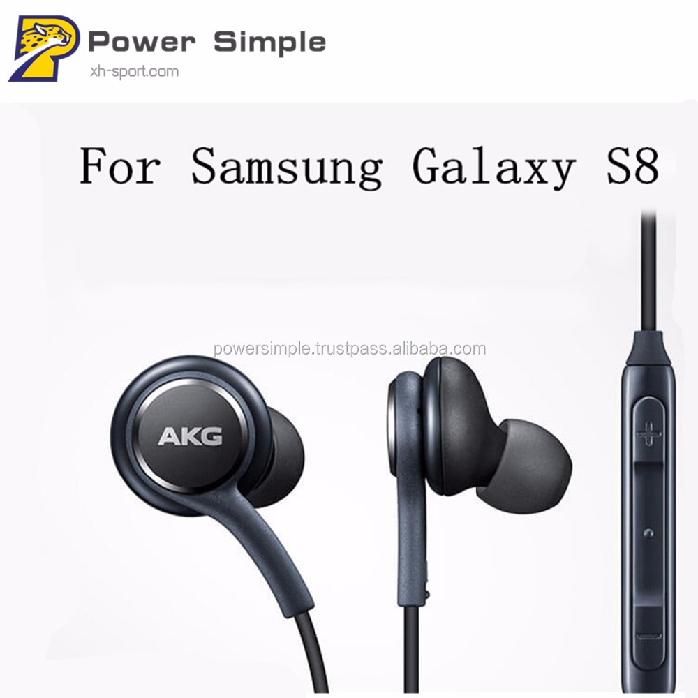 Earphone AKG EHS64 Headsets Wired with Microphone for Samsung Galaxy S8 S8 Plus Official Genuine for IOS Android Phones