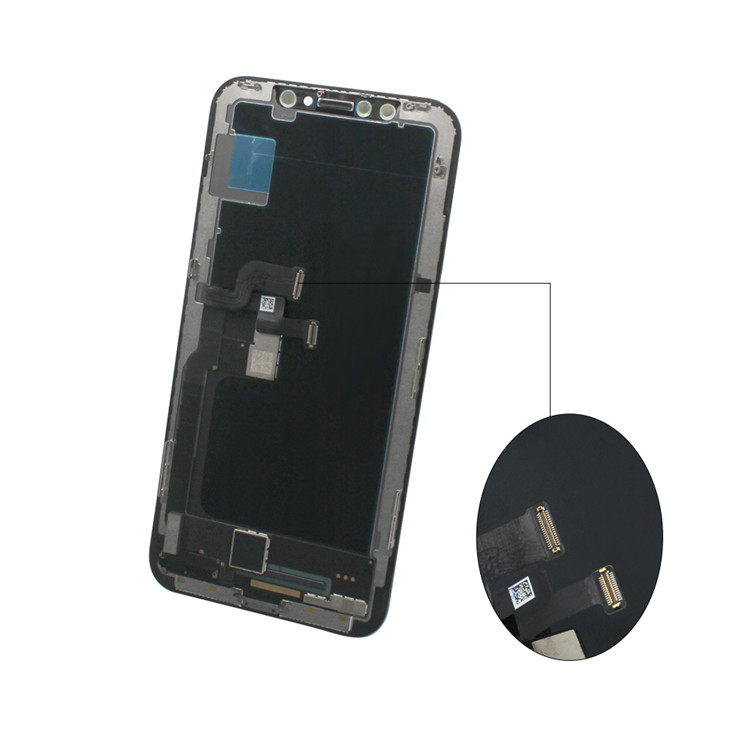 Mobile Phone LCDs Digitizer Screen for iPhone X LCD Display Touch Screens Assembly + Touch Glass Digitizer