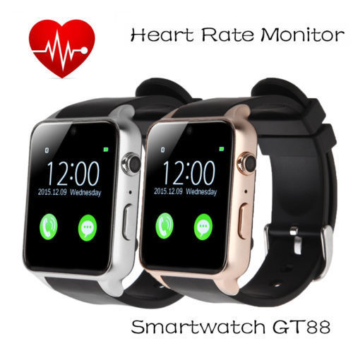 Smart Wrist Watch GT88 Waterproof NFC Bluetooth SIM Card For Android Phone Mate 722