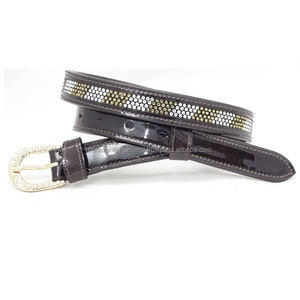 Crystal Leather Belts for ladies , mens and kids.