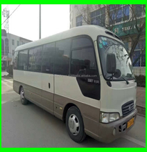 Used Hyunda Bus county. 25 seats bus high quality bus with cheap price for sale korea cars