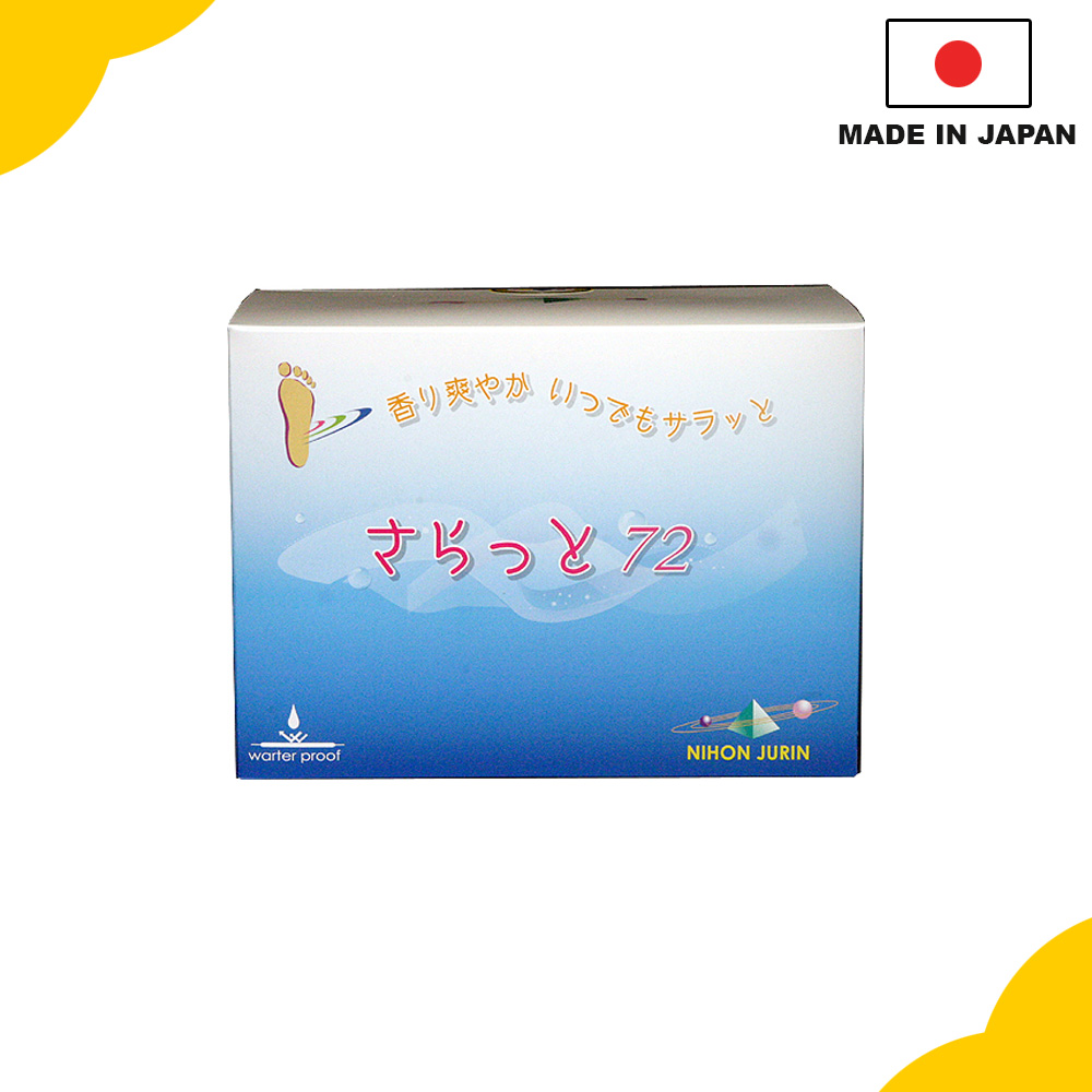 "High-grade and hot-selling Japanese health products, Sap sheet ""Saratto72"", various kinds available"