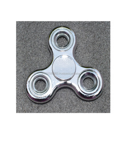 Tri-Spinner Fidget Toy Metal EDC Hand Finger Spinner For Autism and ADHD