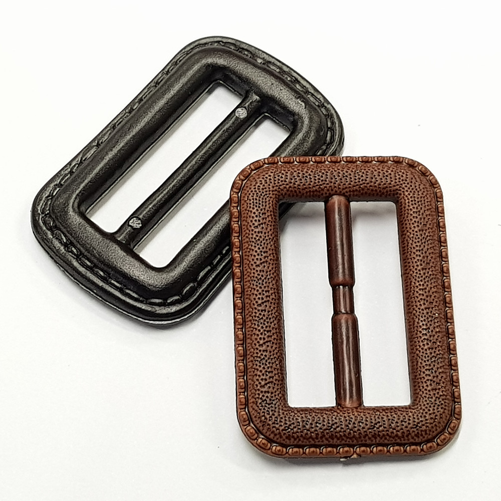 Imitation Leather plastic Belt Buckle for woman dress