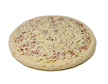 "Tubito's Pizza 12 Inch Premium ""Kosher"" Frozen New York Style Cheese Pizza, Raised Edge Par Baked"