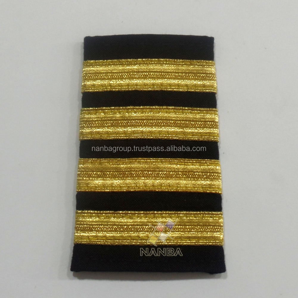 Pilot Shoulder Boards | Pilot Ranks | Military Pilot Ranks
