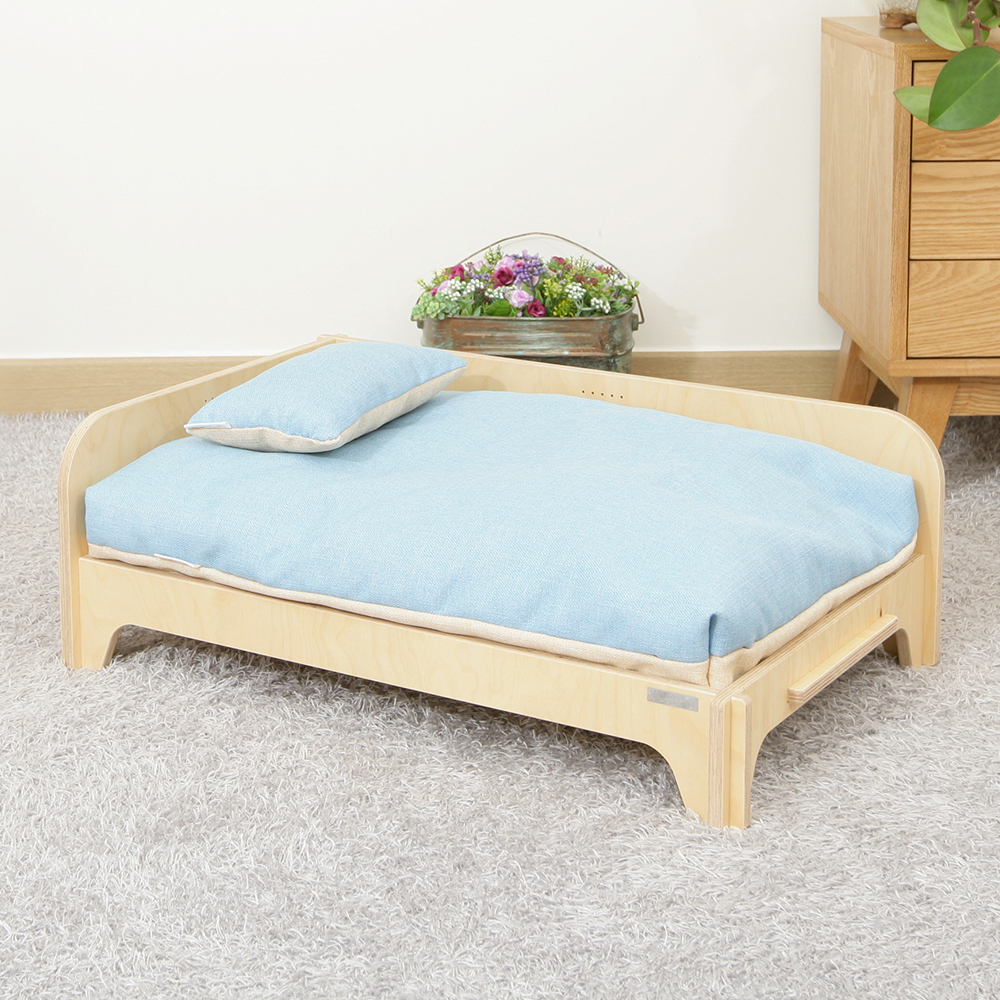 MODERN BED for PET European eco-friendly pet furniture Easy to assemble