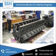 Diesel Marine Engine Block Available at Affordable Price