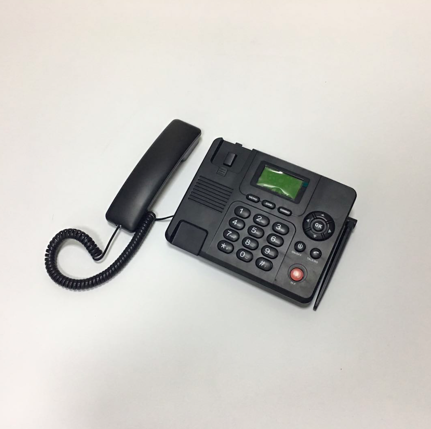 stock!! 3g gsm fixed wireless desk phone desktop phone with fm/detachable antenna