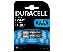 AAAA Duracell Batteries LR61 - Pack of 2