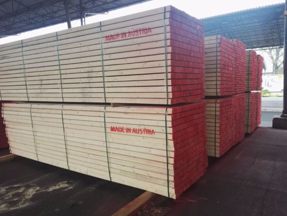 Good Quality construction spruce/Pine Wood lumber